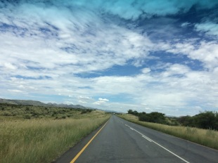 After getting really lost driving in Windhoek, we found the wide open roads.